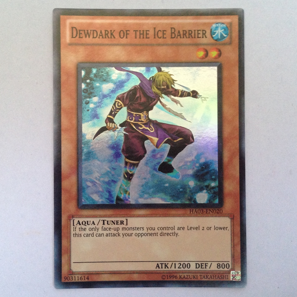 HA03-EN020 : Dewdark of the Ice Barrier / Water Reflection of the Ice Barrier (Super Rare) - Used