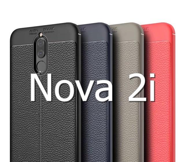 (674-014)เคสมือถือ Case Huawei Nova 2i/Mate10Lite เคสนิ่มแฟชั่นลายหนัง