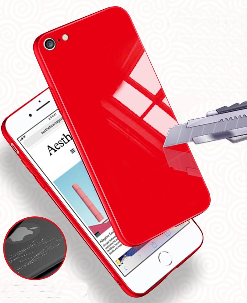 (606-015)เคสมือถือไอโฟน Case iPhone 6/6S เคสแฟชั่นพื้นหลังแววกันกระแทก