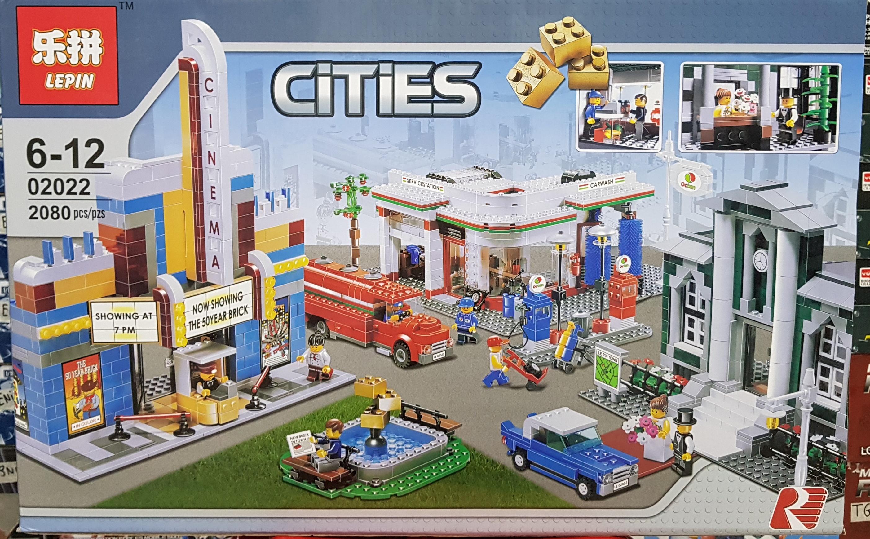LEPIN CITIES 02022 [2080ชิ้น]