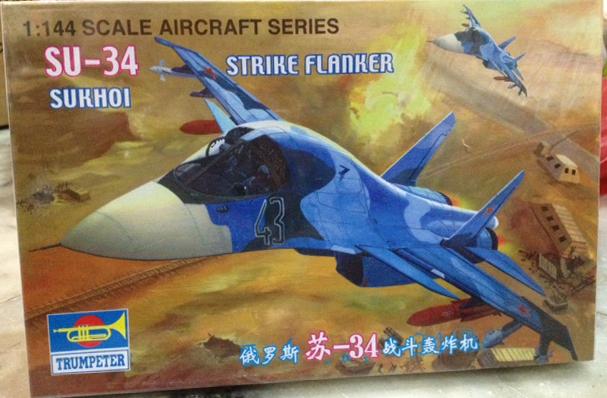1/144 SU-34 Strike Flanker