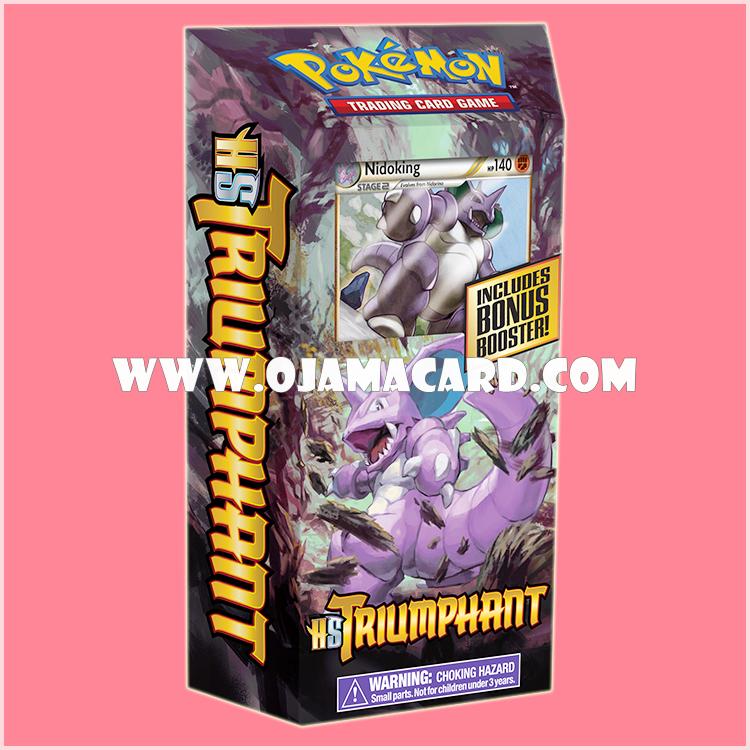 Pokémon TCG HS—Triumphant : Royal Guard Theme Deck