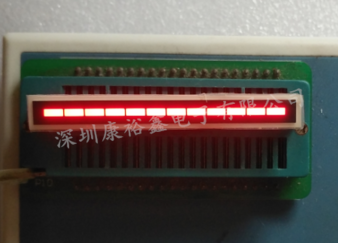 12 Segment LED Bar Graph สีแดง KYX-125807BR