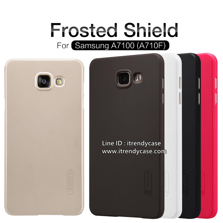 Samsung A7 2016 - เคสหลัง Nillkin Super Frosted Shield แท้