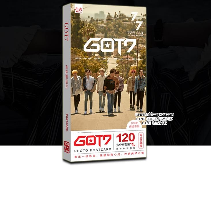 โปสการ์ดเซต GOT7 7 FOR 7 (Ver.2)