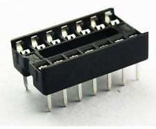 ซ็อกเก็ต socket 14 Pin DIP SIP IC Sockets