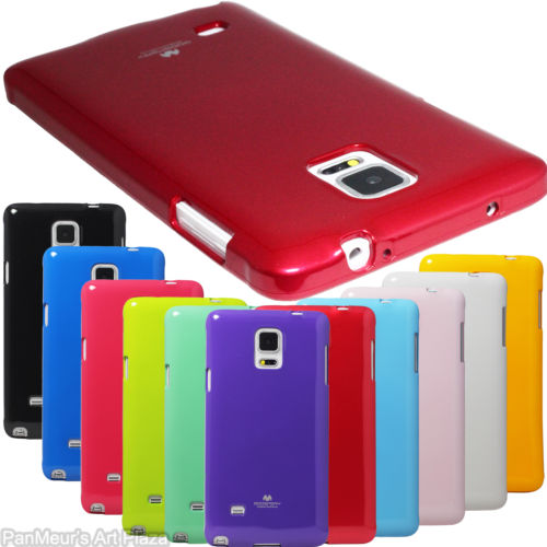 Samsung Note4 - เคส TPU Mercury Jelly Case (GOOSPERY) แท้