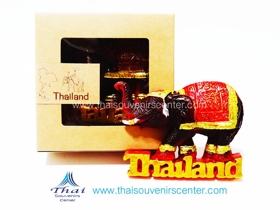 ของที่ระลึกไทย ที่ติดตู้เย็น ช้างไทย แบบ 56