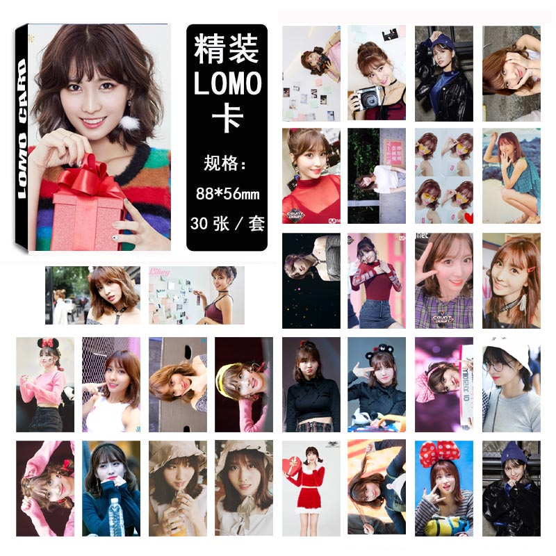 Lomo card set TWICE - Momo 03 (30pc)