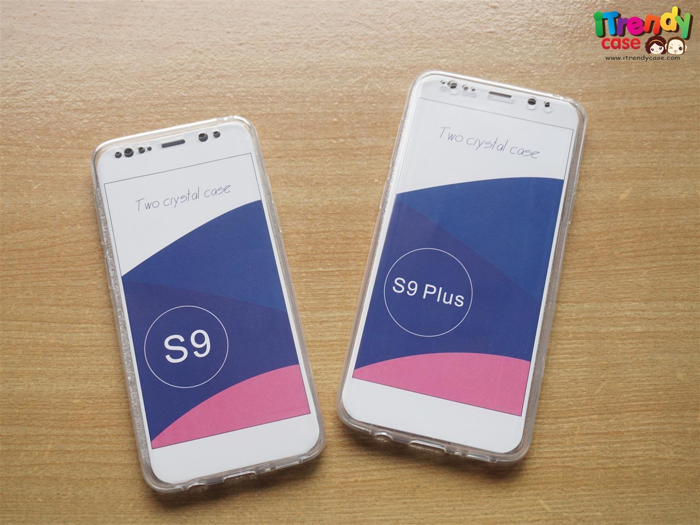 Samsung S9 Plus - เคสใส ประกบ TPU