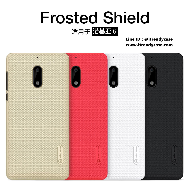 Nokia6 - เคสหลัง Nillkin Super Frosted Shield แท้