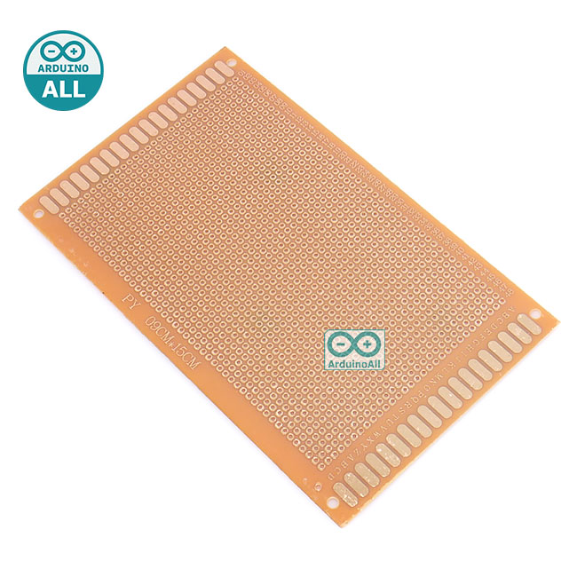 PCB 9x15 circuit board แผ่นปริ๊น อเนกประสงค์ขนาด 9x15cm 1 ด้าน