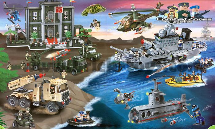 เลโก้ ชุดทหาร