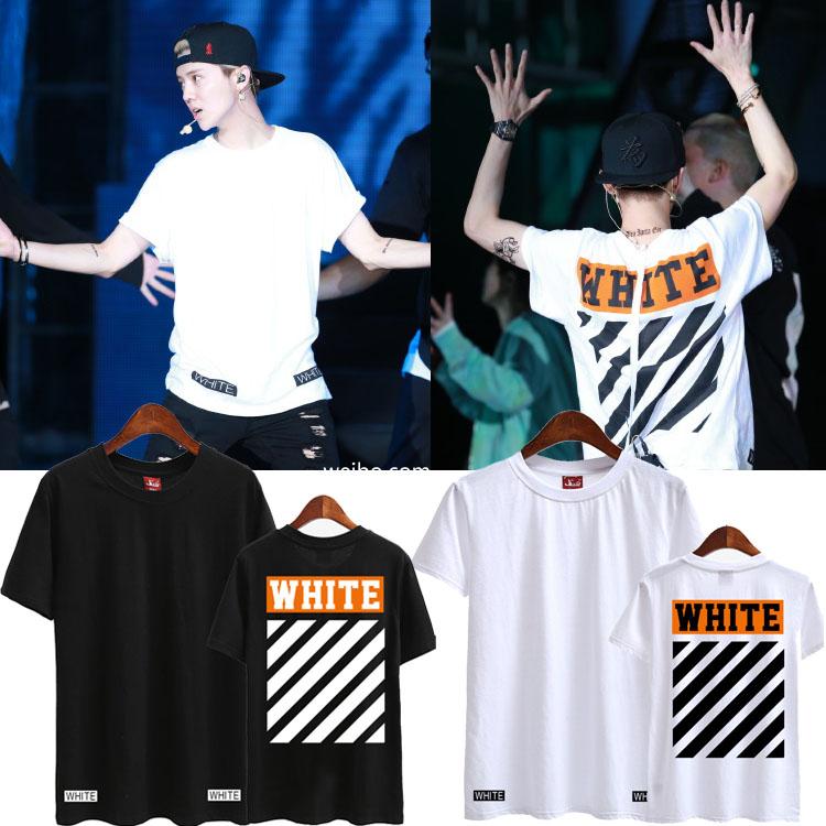 เสื้อยืด OFF-WHITE NEW16ss Sty.Luhan -ระบุสี/ไซต์-