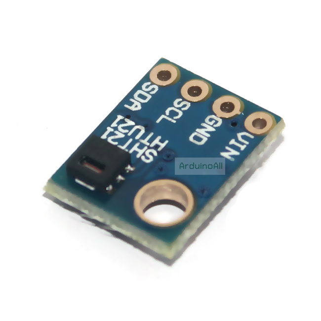 SHT21 Digital Humidity and Temperature Sensor For Arduino GY-21