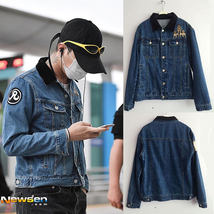 Jacket Jeans Sty. G-Dragon -ระบุไซต์-