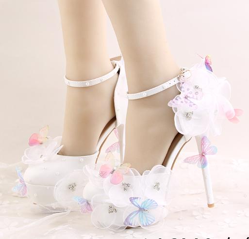 รองเท้าเจ้าสาว ไซต์ 34-39 ส้นสูง 14 ซม.
