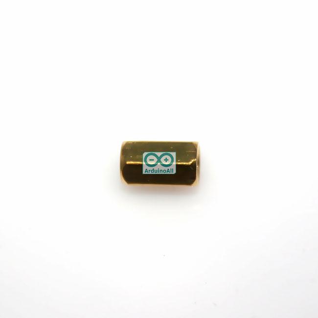 Pillars Nut M3 น็อตตัวเมีย ทองเหลืองยาว 8mm