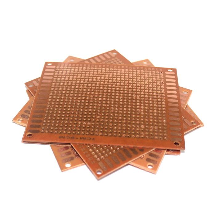 แผ่นปริ๊นต์อเนกประสงค์ 7x9 cm PROTOTYPE PCB Bakelite Plate One Layer 7cmx9cm Panel Universal Board for DIY