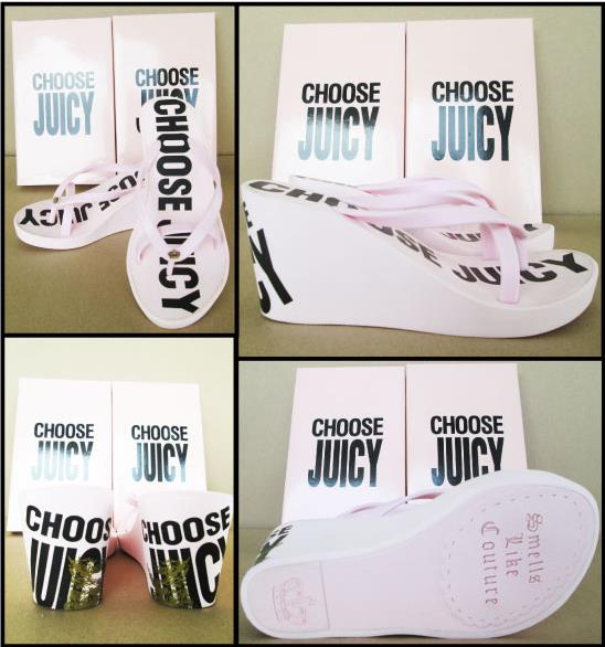 --- Sold Out --- รองเท้า รุ่น CHOOSE JUICY สีำชมพู