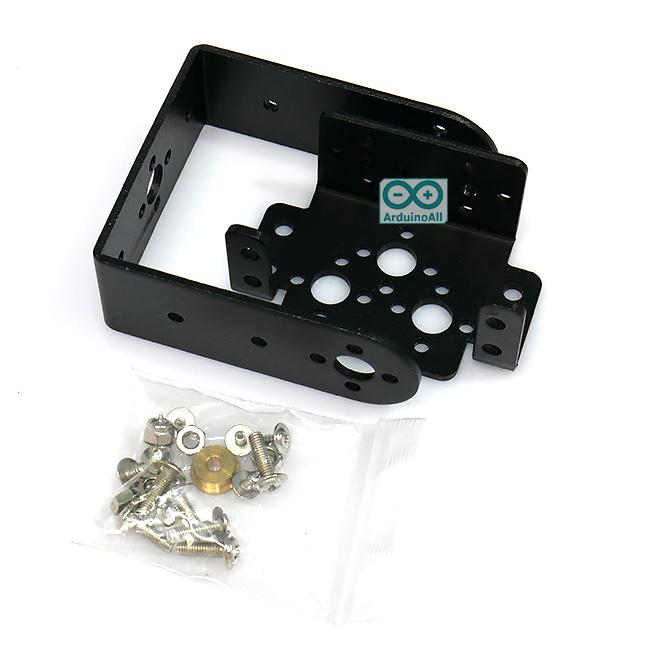 Robot Joint 2 Degree of Freedom MG995 MG996 pan / tilt bracket manipulator robot bracket set