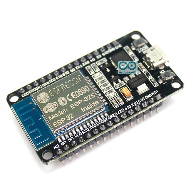 ESP32 ESP-32S NodeMCU ESP-WROOM-32 Wi-Fi and Bluetooth Module Dual Core Consumption ESP-32 ESP-32S ESP 32