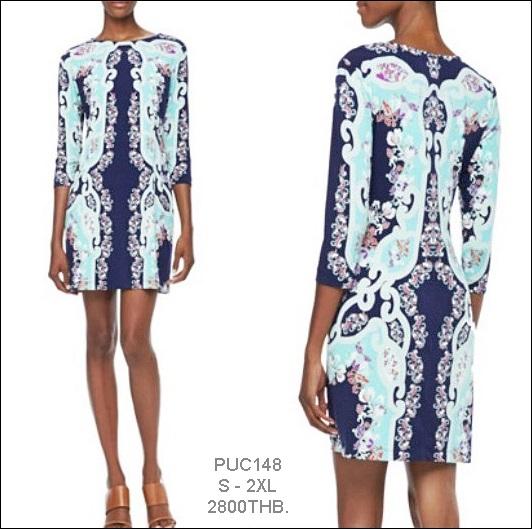 PUC148 Preorder / EMILIO PUCCI DRESS STYL