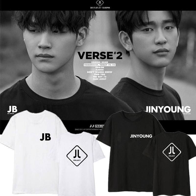 เสื้อยืด JJ project Sty.JB Jinyoung -ระบุสมาชิก/สี/ไซต์-