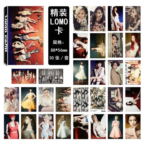 Lomo Card Set Girls'Generation PARTY (30pc)