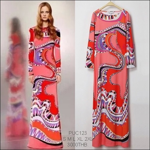 PUC123 Preorder / EMILIO PUCCI DRESS STYLE