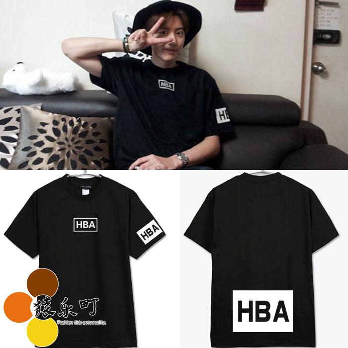 เสื้อยืด HBA EXO CHANYEOL -ระบุสี/ไซต์-