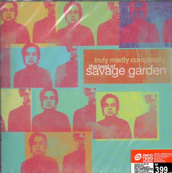CD,Savage Garden Truly Madly Completely The Best Of Savage Garden(Thai)