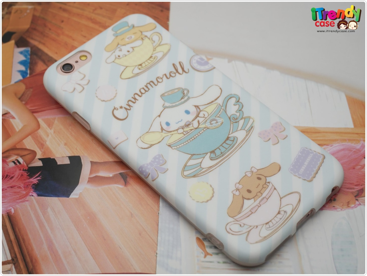 iPhone 7 - เคส TPU ลาย Cinnamoroll Tea Time