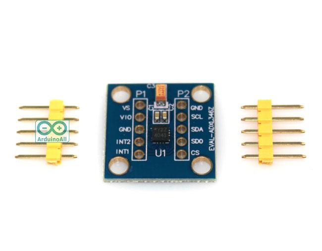 GY-298 ADXL346Z Digital Three-Axis Acceleration Sensor Module