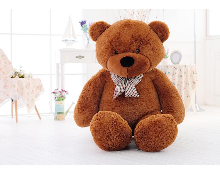 ตุ๊กตาหมี ลืมตา ขนาด 1.0 เมตร