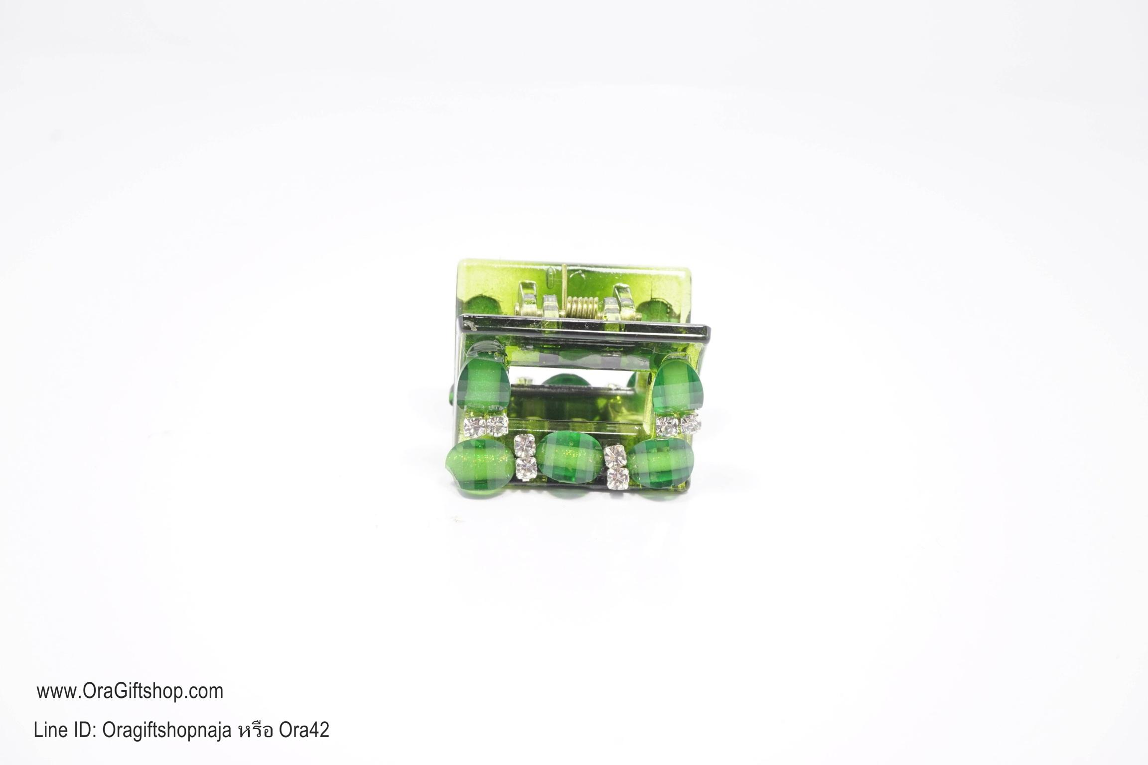กิ๊บเกาหลีสีเขียว