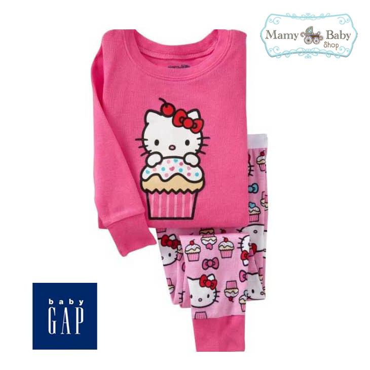 ชุดนอน Baby Gap ลาย Kitty Cupcake