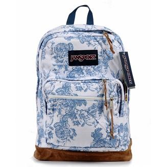*Pre Order*JanSport schoolbag rebellious men and women college ผ้าใบพิมพ์ลายสไตล์อเมริกัน