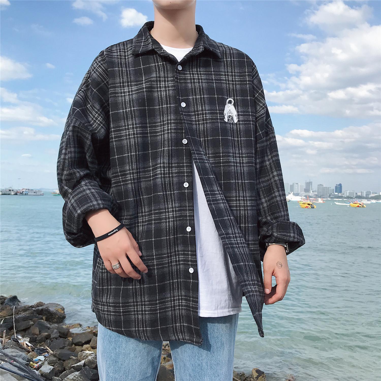 *Pre Order*เสื้อเชิ้ตแขนยาวผ้าฝ้าย90% /เกาหลี size M-XL