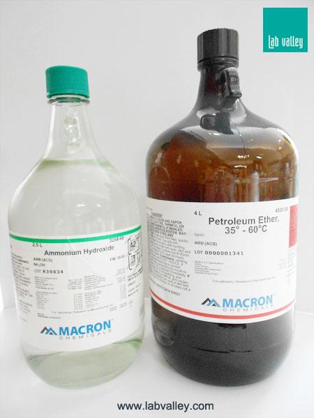 เคมีภัณฑ์, ผลิตภัณฑ์ Macron