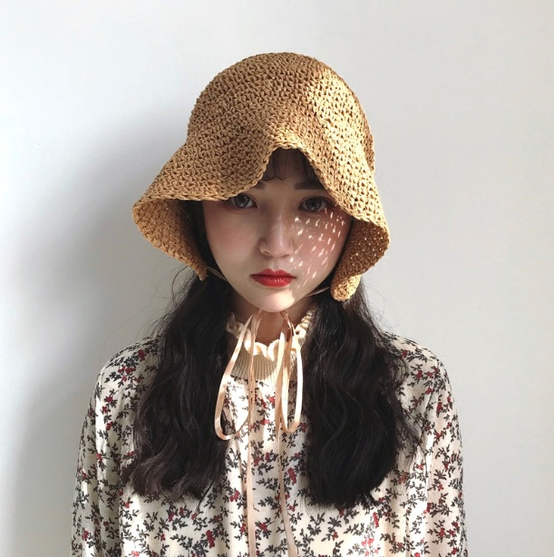 *Pre Order*Dome*หมวกแฟชั่นไหมพรมเบาสาน สไตล์ญี่ปุ่น