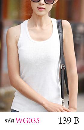 เสื้อกล้าม ซับใน มี 2 สี สีขาว สีดำ เสื้อเต็มตัว แแขนกุด คอกลอม ผ้ายืด ด้านหลังแต่งด้วยผ้าลูกไม้ สวยหวาน ขนาด FREE SIZE ( รอบอกไม่เกิน 36 นิ้ว ) มี 2 สี : ขาว ดำ