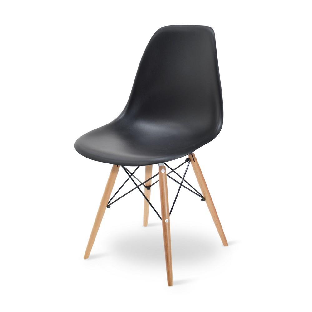 เก้าอี้ร้านอาหาร ดีไซน์ขาไม้ สไตล์โมเดิร์น สำหรับแต่งร้านกาแฟ คาเฟ่
