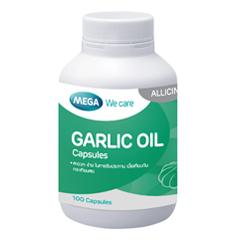 Garlic oil (100 capsules) น้ำมันกระเทียม