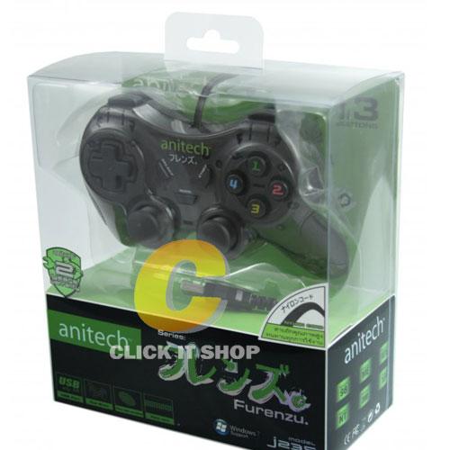 Gaming JoyPad Anitech รุ่น J235 - Black