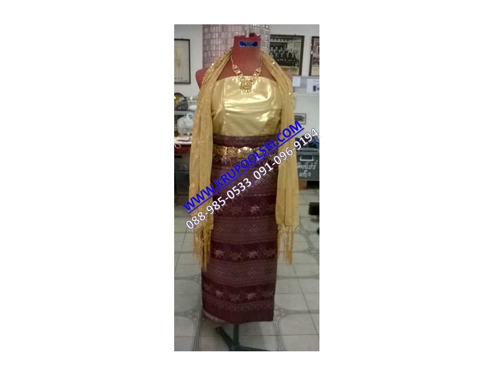 ชุดพม่า หญิง 24