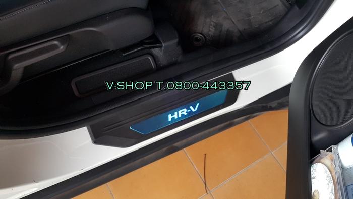สครัฟเพลท HR-V แบบมีไฟ 4 ประตู