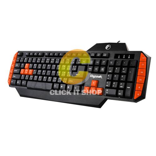 Keyboard Gaming Razeak KB-8168 - คละสี