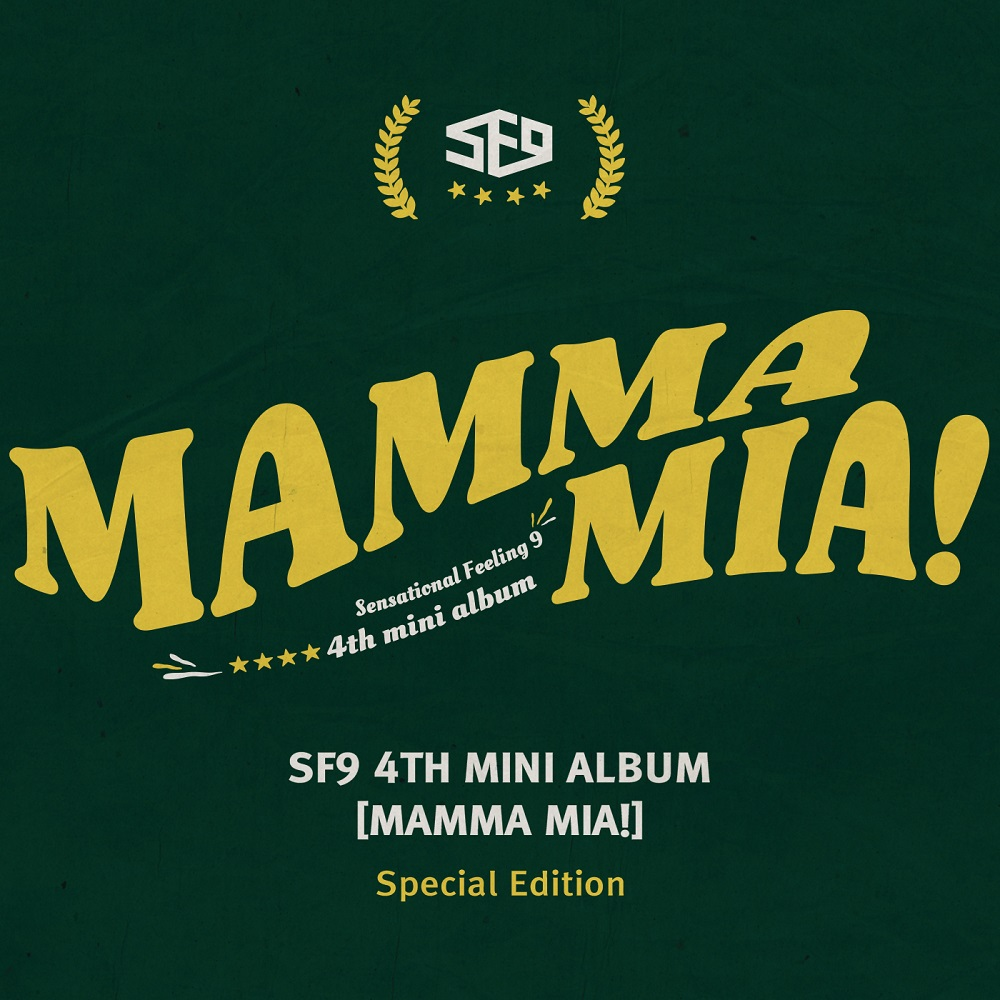 [Pre] SF9 : 4th Mini Album Special Edition - MAMMA MIA +Poster