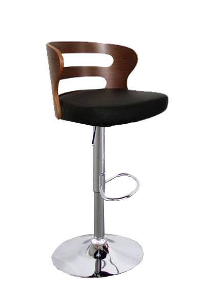เก้าอี้บาร์ ปรับระดับได้ สำหรับแต่งร้านกาแฟ โรงแรม (RI-STOOL)